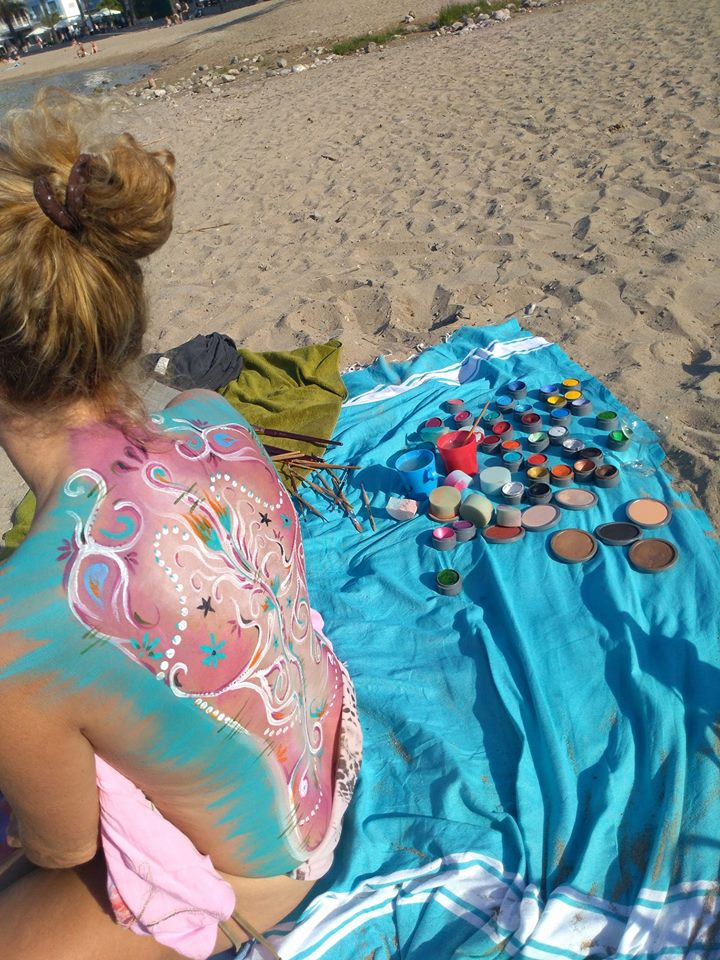 Sibylle_Becker_Body_Painting_Palma_Mallorca